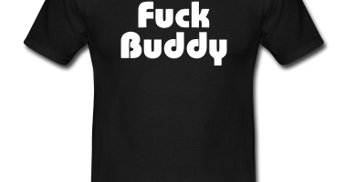 Black-Fuck-Buddy-Men-s-Tees